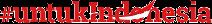 Untuk Indonesia Logo