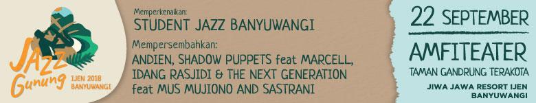 Jazz Gunung Banyuwangi