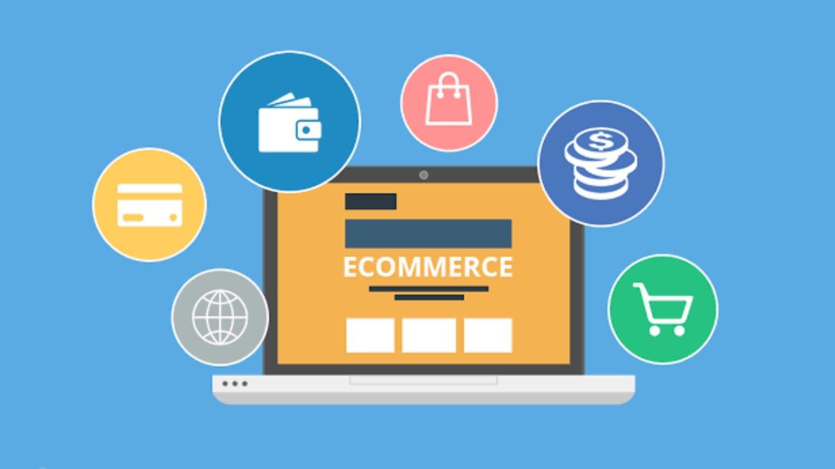 Ilustrasi E-Commerce Indonesia