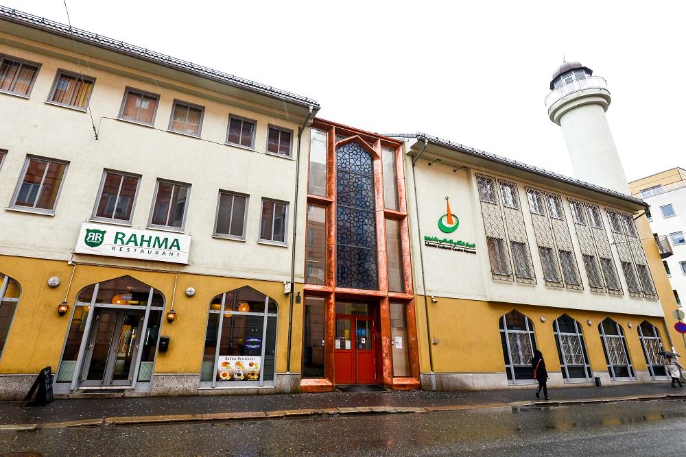 Islamic Center di kota Oslo, Norwegia.