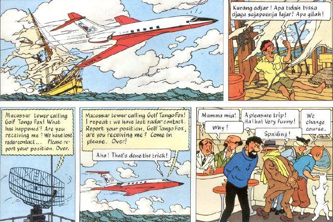 Tintin Penerbangan 714.