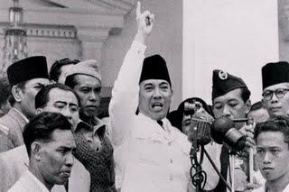 Presiden Soekarno Saat Berpidato