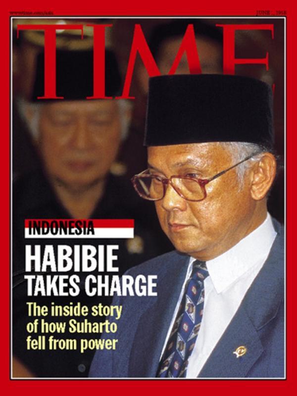 Habibie Jadi Cover Majalah TIME