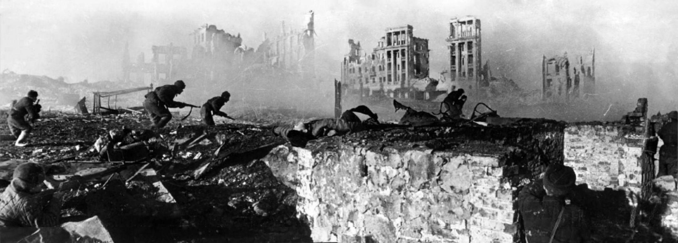 Tentara Soviet dalam serangan balik di Stalingrad | RIAN archive 44732