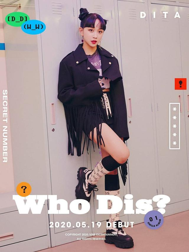 Dita Karang, Secret Number. Foto: Vine Entertainment