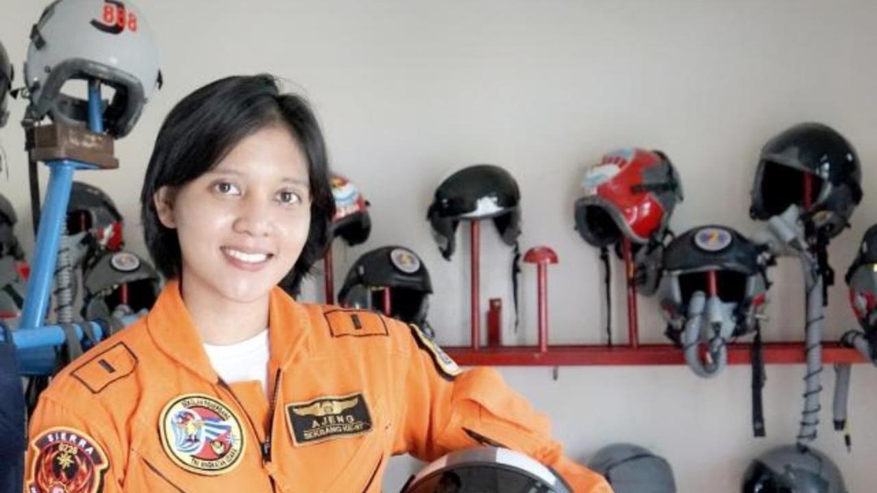 Letda Pnb Ajeng Tresna Dwi Wijayanti. Foto: Dispenau
