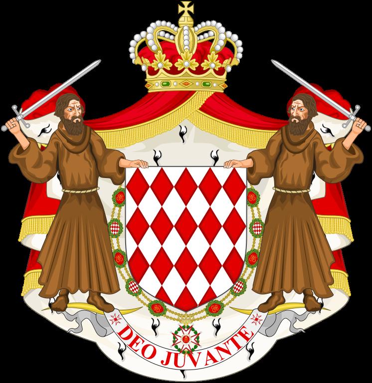Lambang Negara Monako, House of Grimaldi