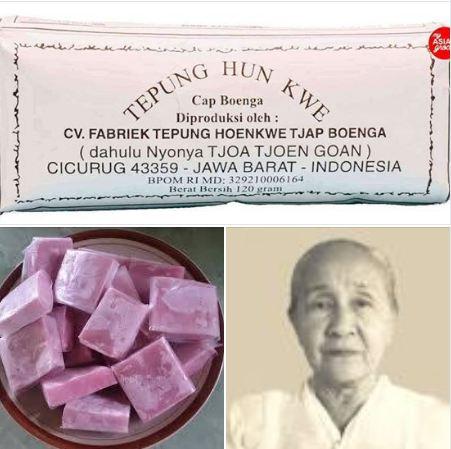 Perusahaan penghasil tepung Cap Boenga didirikan oleh Nyonya Tjoa Tjoen Goan, Tuan Tjoa Tek Tjoei dan Tuan Tjoa Tek Low di Sukabumi, Jawa Barat, pada 1950.