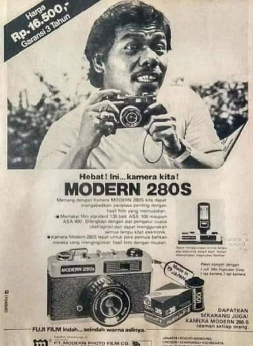 Kamera analog Modern 280S Benyamin.