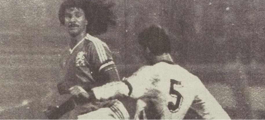 Potret Ruud Gullit ketika membela timnas Belanda pada Oktober 1987.