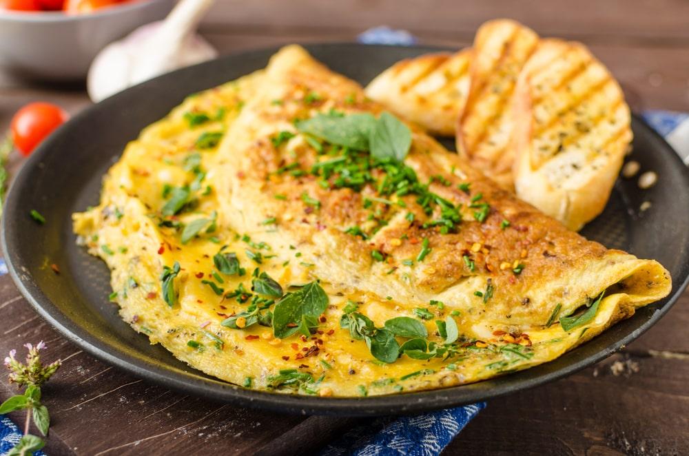Omelet atau Telur Dadar