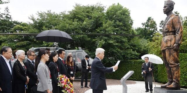 Patung Jenderal Soedirman di Jepang