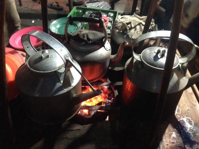 Suasana Pembuatan Kopi Jos