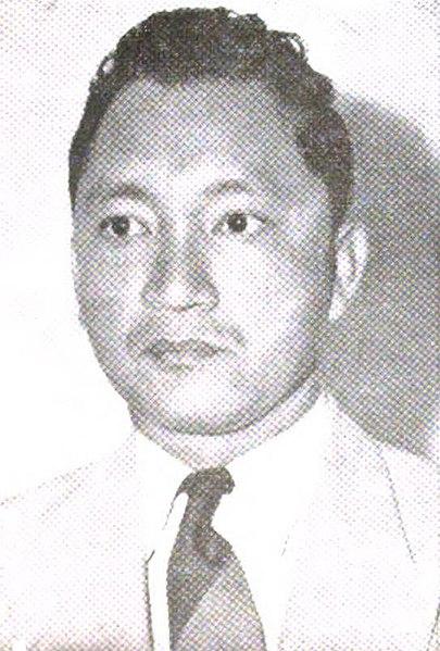 Potret Wali Kota Jakarta periode 1953-1960, Sudiro