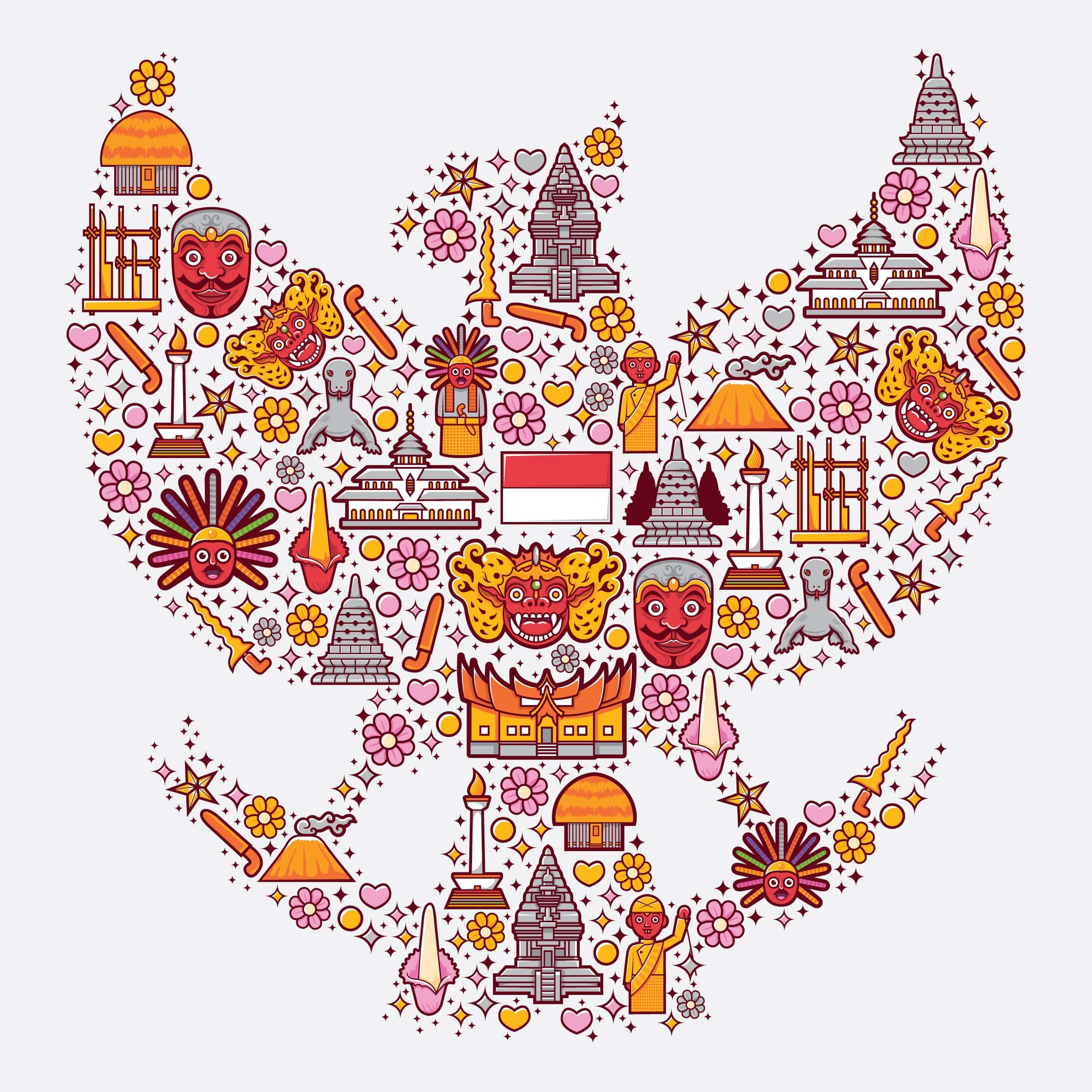 Ilustrasi Lambang Garuda