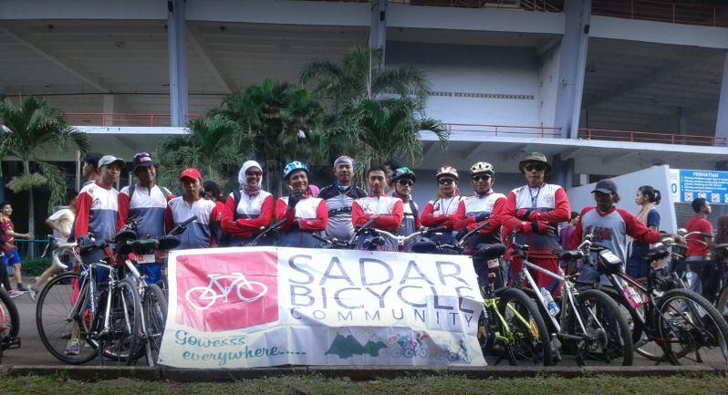 Sadar Bicycle Community pada 2016.