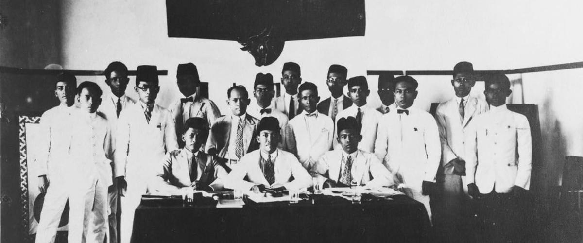 Kongres pertama Partai Nasional Indonesia (PNI) di Surabaya, 27-30 Mei 1928. (KITLV)..