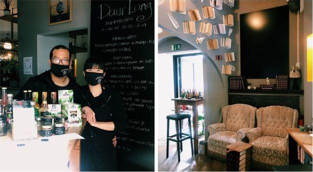 Cassie Sukmana dan pasangannya mengelola Daur Lang di tengah pandemi Covid-19 di jerman.