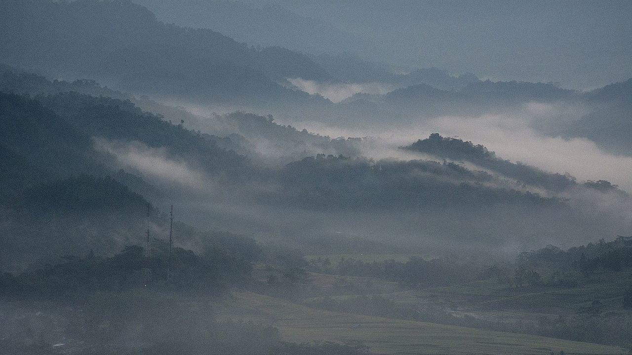 Panorama geowisata Karangsambung, Kebumen.