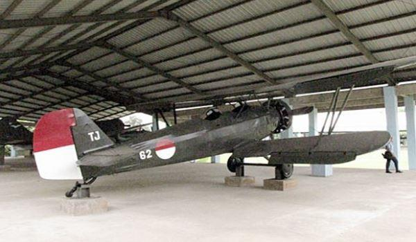 Pesawat cureng di Museum TNI AU.