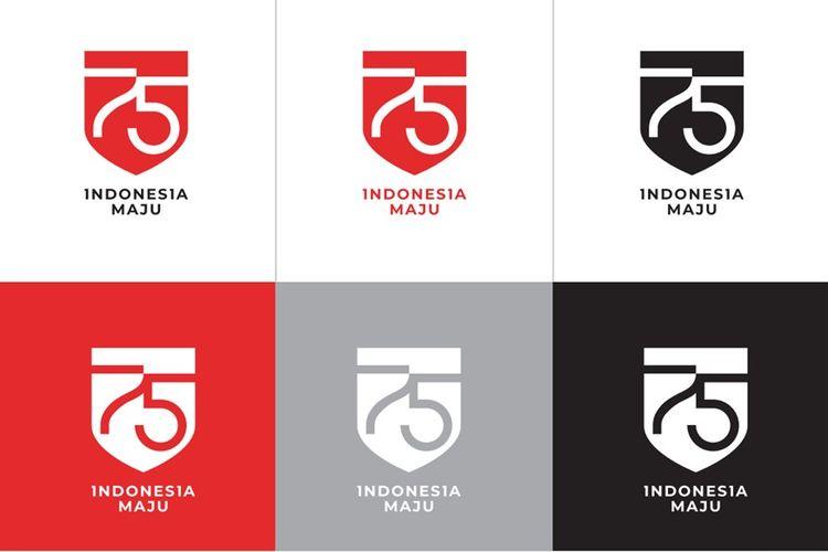 makna logo HUT RI ke-75