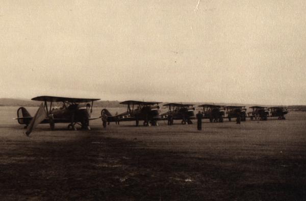 Pangkalan udara Kalijati, Jawa Barat.