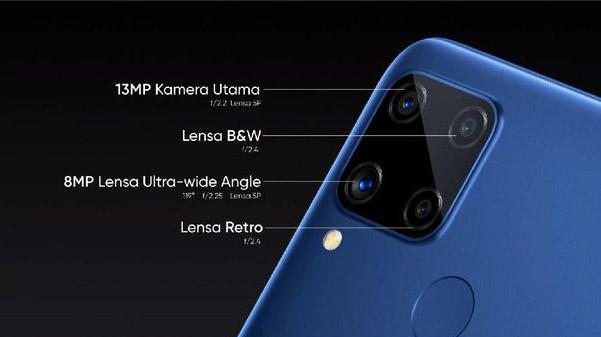 lensa kamera realme C15