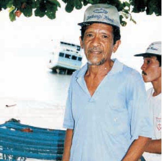 Potret Lameh Sonatham, nelayan Manado yang tak sengaja menangkap ikan Coelacanth.