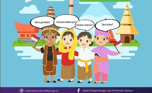 ragam bahasa di Indonesia / badanbahasa.kemdikbud.go.id