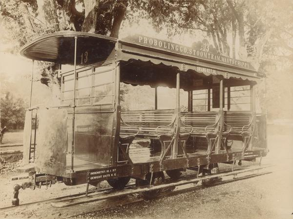 Wagon penumpang trem PbSM.