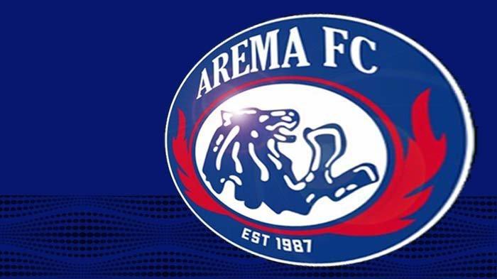 Logo Arema FC yang baru hanya memasang tahun ketika berdiri.