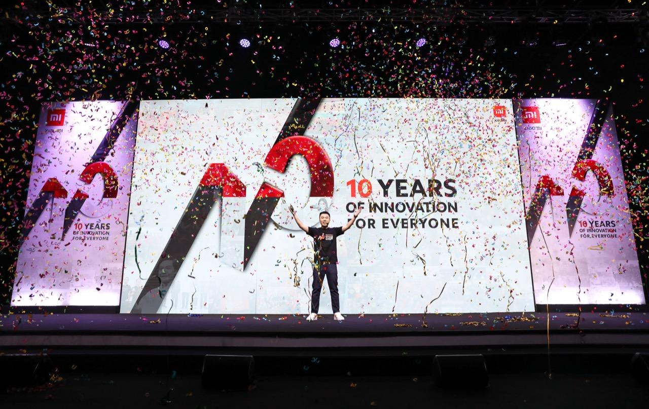 10 tahun Xiaomi