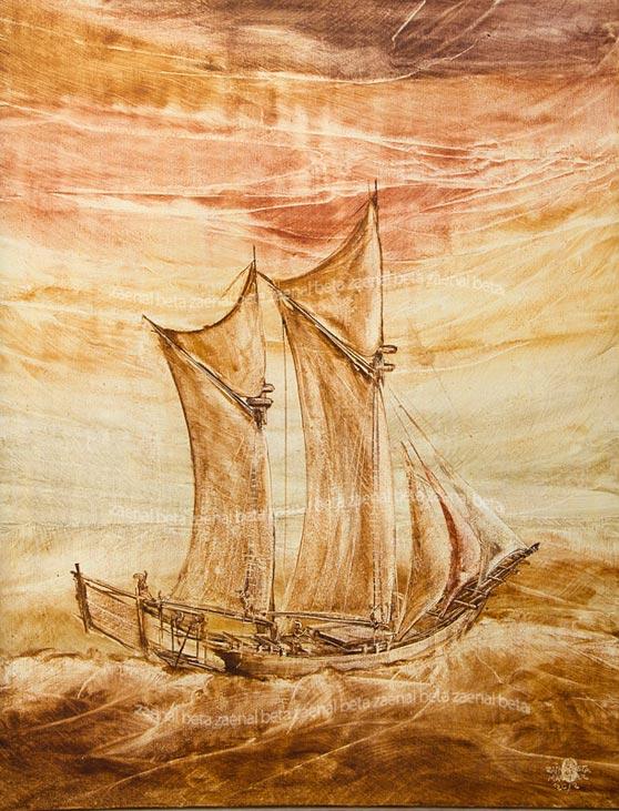 Tema perahu pinisi zaenal beta