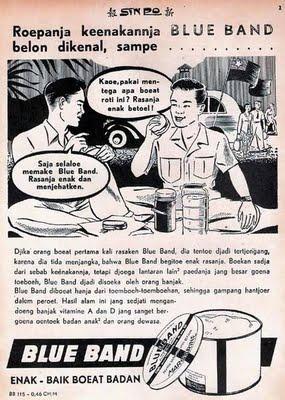 Iklan Blue Band Jadul © Ejaan van Ophuysen (1901—1947) dalam Iklan Tempo Doeloe dan Kebermaknaannya dalam Pengembangan Bahasa Indonesia