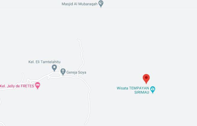 Tempayan Soya bisa dicek di Google Maps. Letaknya tidak jauh dari Gereja Tua di Desa Soya.