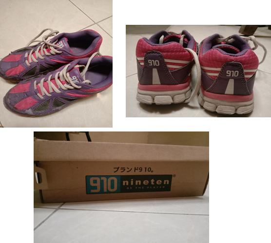 Sepatu Nineten keluaran lama. Sumber: Dok. Pribadi Penulis