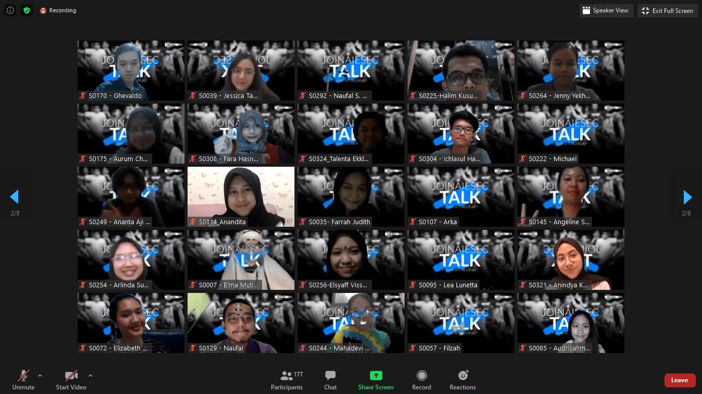 Peserta dalam Kegiatan JA Talk