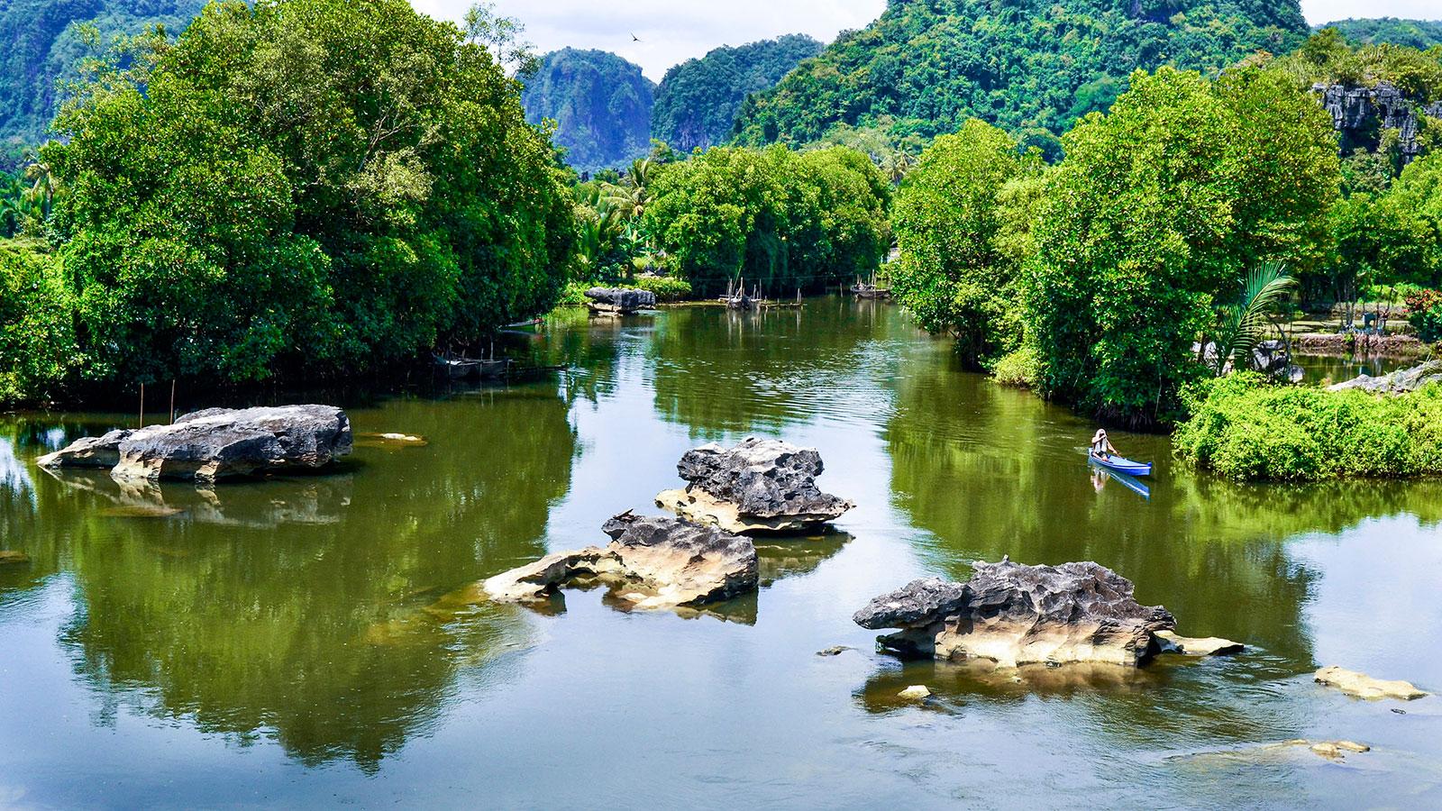 Rammang Rammang | Foto: Ruslin Halim via Wikipedia