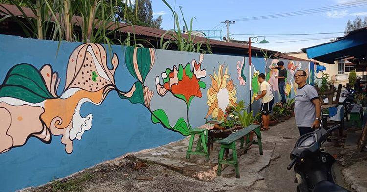Kampung Warna-Warni Tigarihit | Foto: Jhon Martono/Instagram