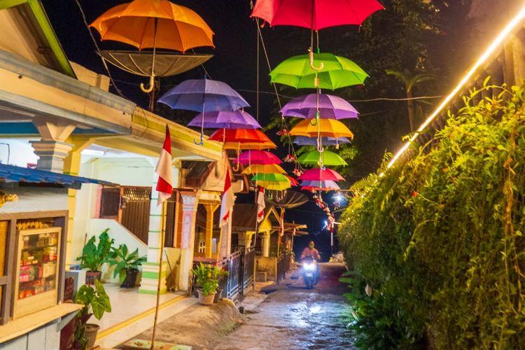 Kampung Warna-Warni Tigarihit | Foto: Kemenparekraf RI