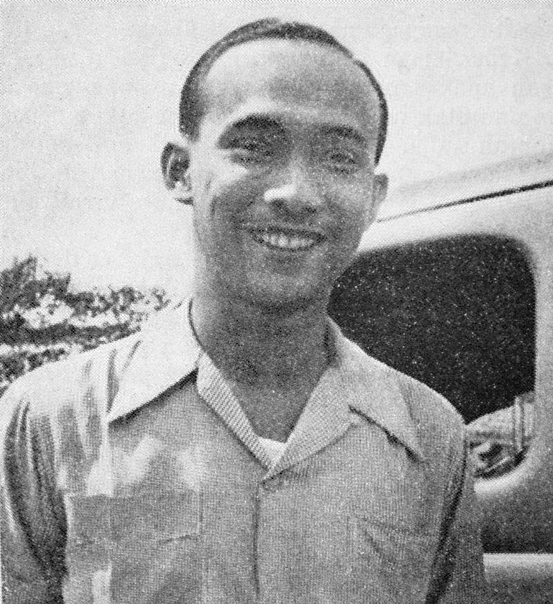 Potret wajah Bing Slamet pada 1954.