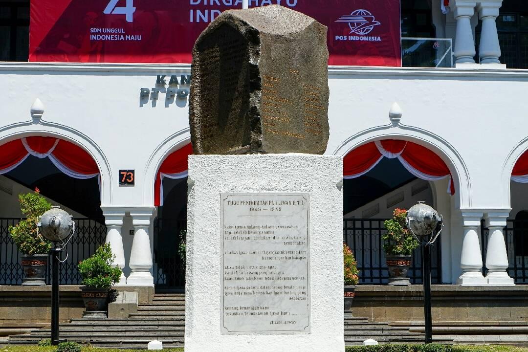 Tugu Peringatan Pahlawan PTT (c) Listya Prabawa/Travelingyuk
