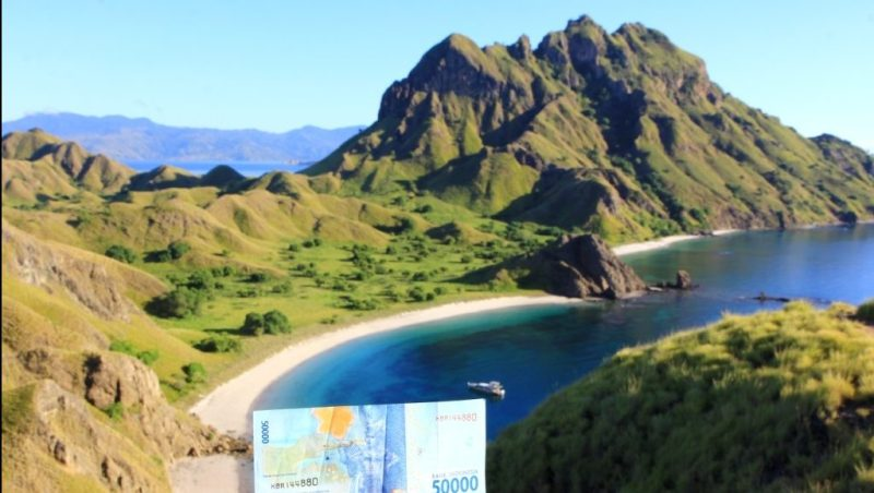 Pecahan Rp 50 ribu yang ada Pulau Padar-nya.