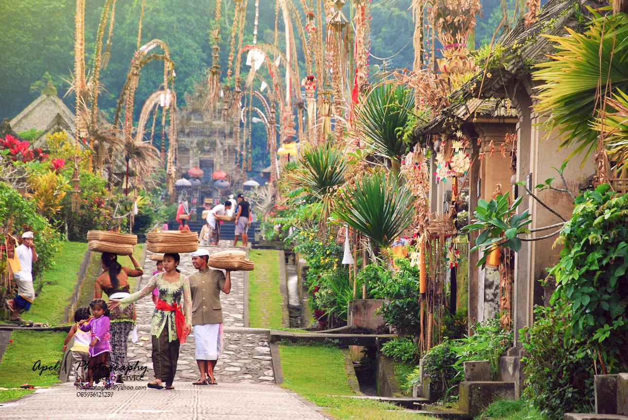 Desa Penglipuran, Kabupaten Bangli, Bali | Foto: kbatur.com