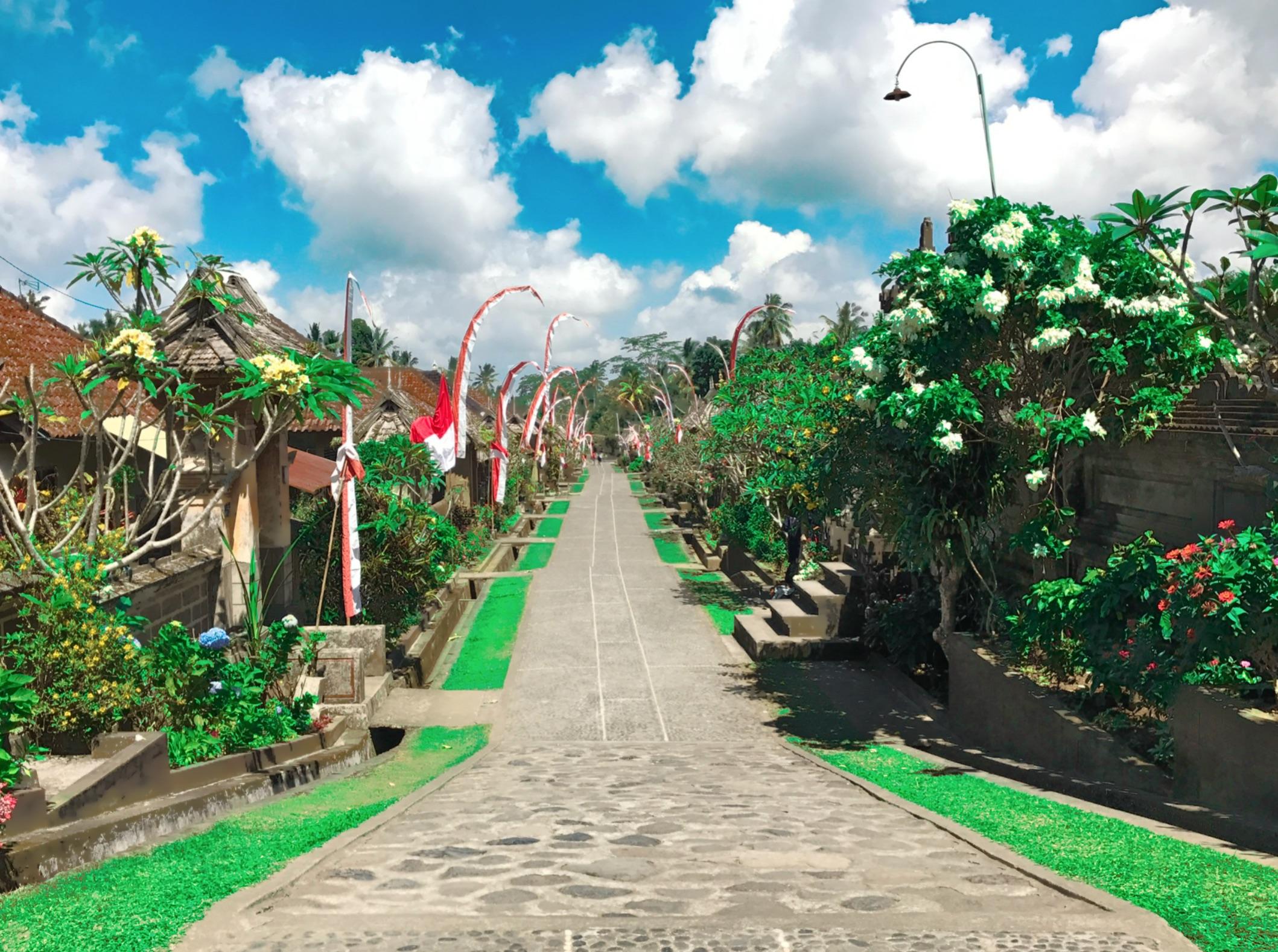 Desa Penglipuran, Kabupaten Bangli, Bali | Foto: pwellesley/Instagram