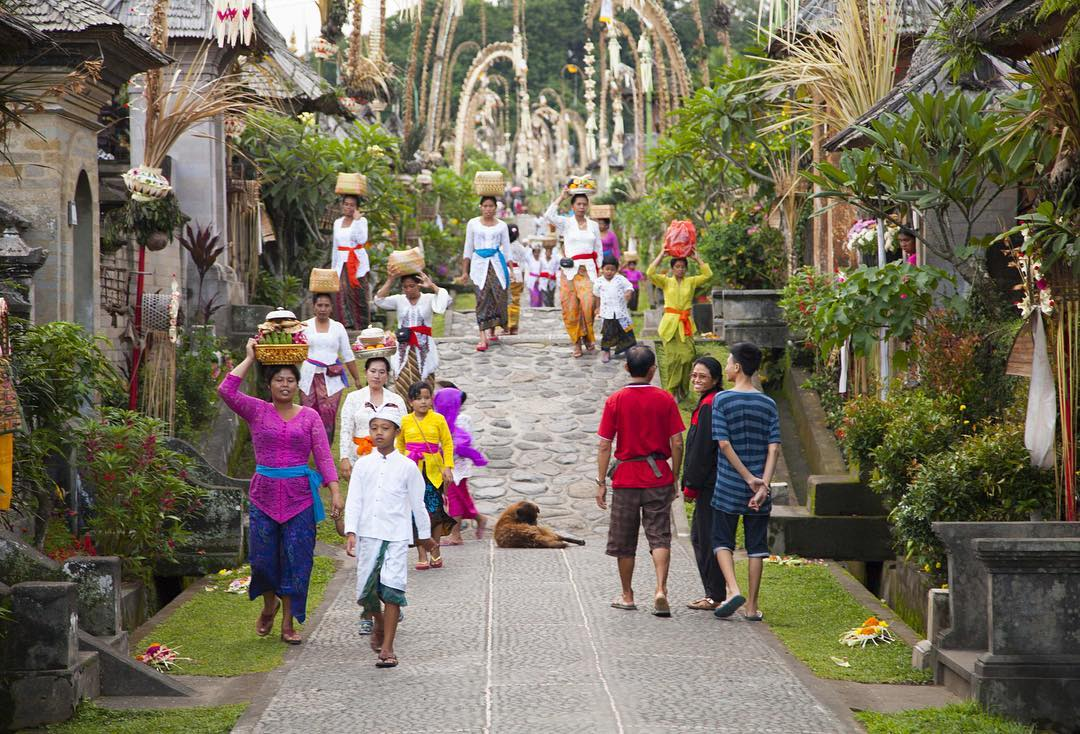 Desa Penglipuran, Kabupaten Bangli, Bali | Foto: cchurchphotography/Instagram