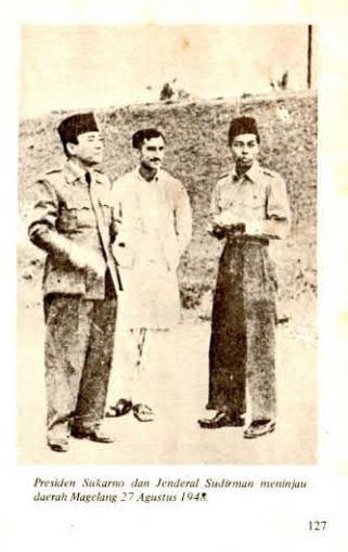Sukarno dan Sudirman.