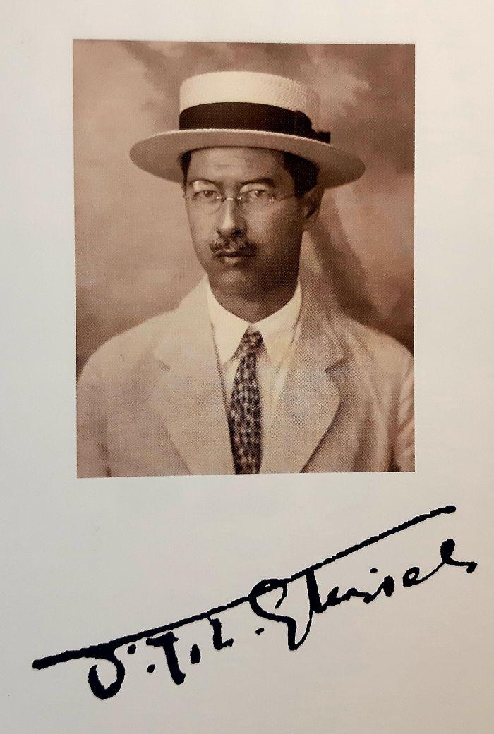 Frans Johan Lowrens Ghijsels, arsitek pembangunan Stasiun BEOS. Sumber: Ir. FJL Ghijsels, Architect in Indonesia (1910-1929)