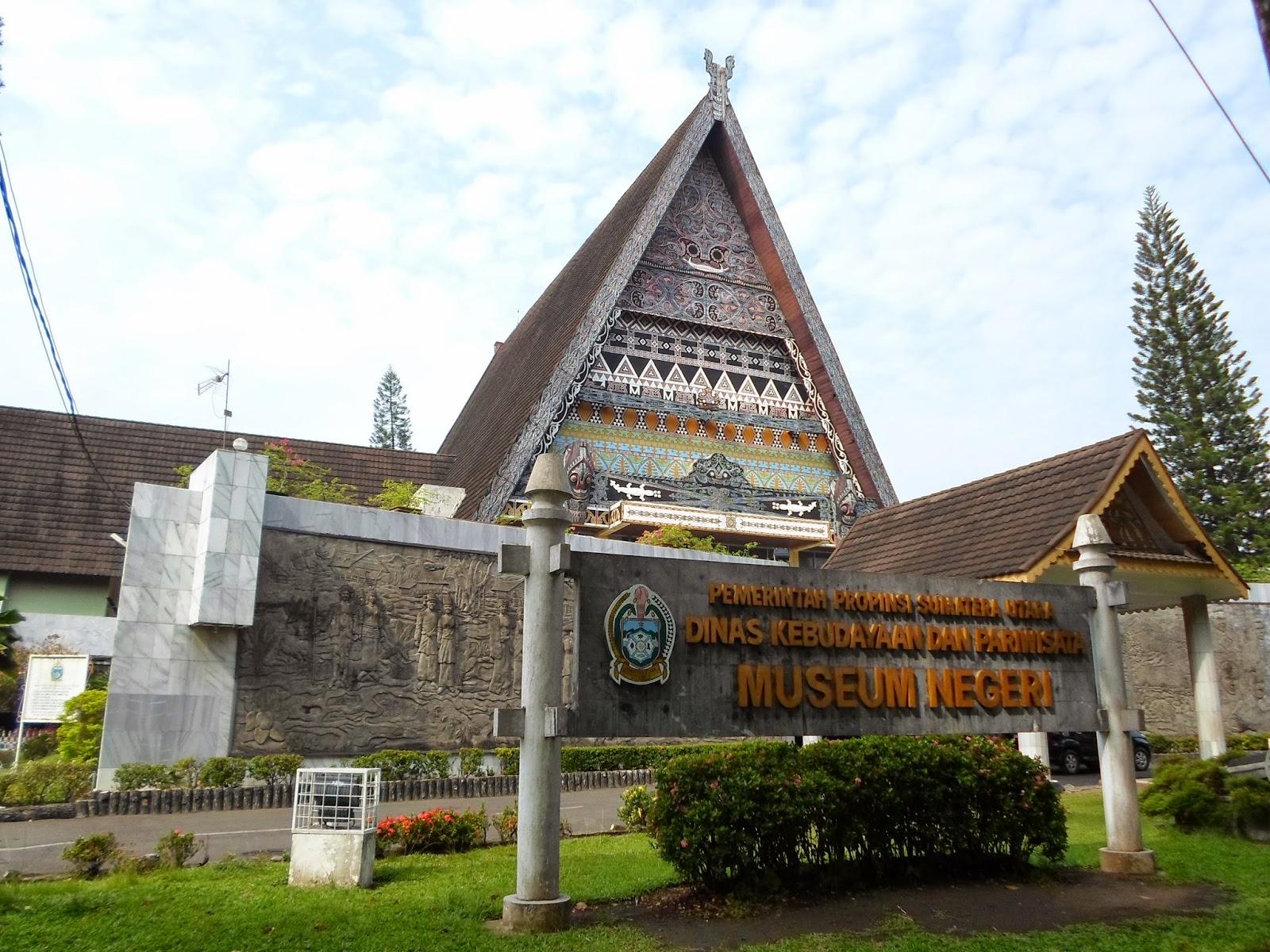 Museum Negeri Sumatera Utara © tempatwisata.pro