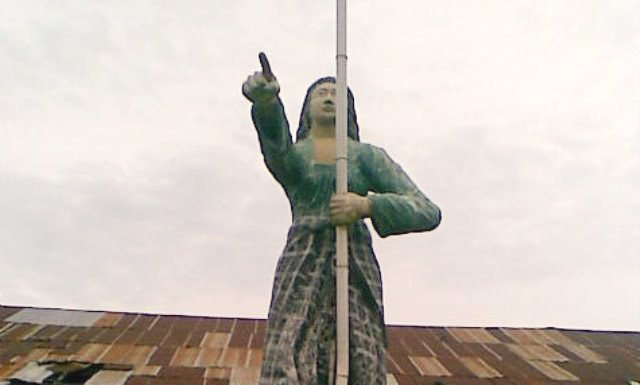Monumen Andi Depu.